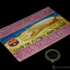 Coleccionismo deportivo: CARNET SOCIO ABONO CLUB FÚTBOL BARCELONA, 1ER TRIMESTRE 1956.. Lote 46392633