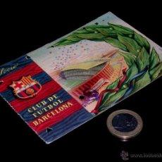 Coleccionismo deportivo: CARNET SOCIO ABONO CLUB FÚTBOL BARCELONA, 1ER TRIMESTRE 1958.. Lote 46392686