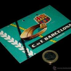 Coleccionismo deportivo: CARNET SOCIO ABONO CLUB FÚTBOL BARCELONA, 1ER TRIMESTRE 1959.. Lote 46392732