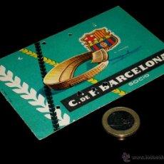 Coleccionismo deportivo: CARNET SOCIO ABONO CLUB FÚTBOL BARCELONA, 2º TRIMESTRE 1959.. Lote 46392755