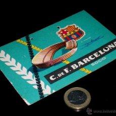 Coleccionismo deportivo: CARNET SOCIO ABONO CLUB FÚTBOL BARCELONA, 3ER TRIMESTRE 1959.. Lote 46392773