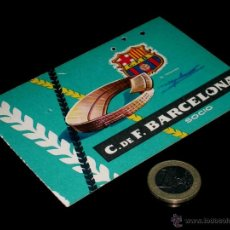 Coleccionismo deportivo: CARNET SOCIO ABONO CLUB FÚTBOL BARCELONA, 3ER TRIMESTRE 1959.. Lote 46392790