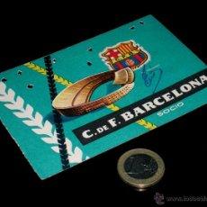 Coleccionismo deportivo: CARNET SOCIO ABONO CLUB FÚTBOL BARCELONA, 4º TRIMESTRE 1959.. Lote 46392811