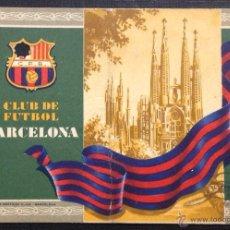 Coleccionismo deportivo: CLUB DE FUTBOL BARCELONA. 1º TRIMESTRE 1955. CARNET DE SOCIO.. Lote 46443290
