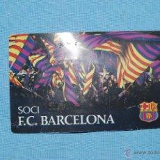 Coleccionismo deportivo: CARNET DE SOCIO F.C. BARCELONA 1981 COMPLETAMENTE NUEVO. Lote 46667945