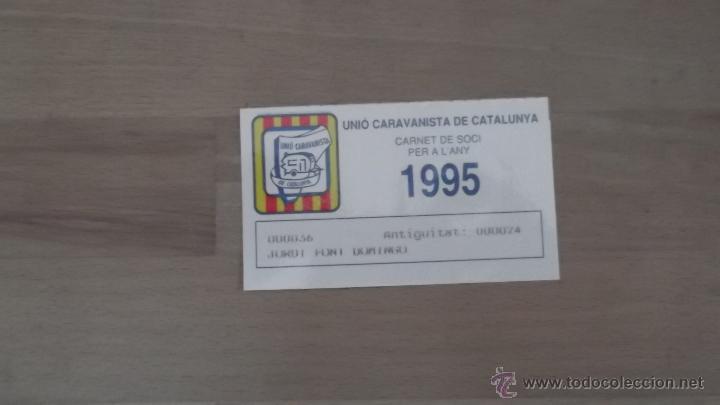Coleccionismo deportivo: LOTE 15 CARNETS ANUAL SOCIO CLUB CARAVANING BARCELONA CATALUNYA AÑOS 70 80 90 MÁS CARNET PERSONAL - Foto 15 - 47363456