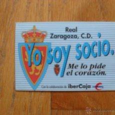 Coleccionismo deportivo: CARNET DE SOCIO ANUAL REAL ZARAGOZA, TEMPORADA 1991 1992. Lote 48931738