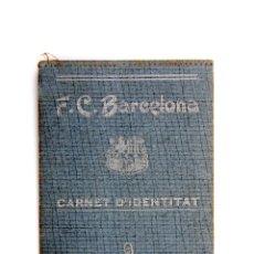 Carnet d´Identitat Futbol Club BARCELONA (Barça). Any 1927