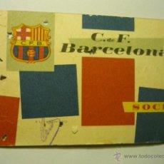 Coleccionismo deportivo: CARNET ANUAL SOCIO 1960 C.F. BARCELONA. Lote 52149575