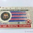 Coleccionismo deportivo: CARNET SOCIO FC BARCELONA , ABONO TEMPORADA 59-60 1959-1960.. Lote 52341903
