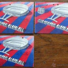 Coleccionismo deportivo: CARNET DE SOCIO - CLUB FUTBOL CF BARCELONA - BARÇA - 1963 - 1,2 Y 3 TRIMESTRE. Lote 54750178
