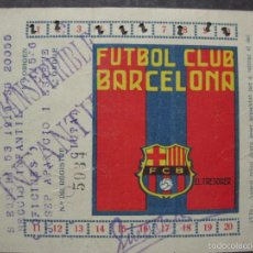 Coleccionismo deportivo: F.C. BARCELONA - CARNET PRIMER TRIMESTRE 1936 - (V-5635). Lote 56898012