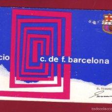 Coleccionismo deportivo: CARNET DE SOCIO - CLUB DE FUTBOL BARCELONA - TEMPORADA 69 - TRIMESTRE 3. Lote 56992055
