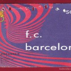 Coleccionismo deportivo: CARNET DE SOCIO - CLUB DE FUTBOL BARCELONA - TEMPORADA 1976. Lote 56992217