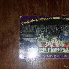 Coleccionismo deportivo: CARNET SOCIO ULTRAS SUR REAL MADRID N° 557 . Lote 57876339