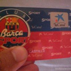 Coleccionismo deportivo: CARNET CLUB BARÇA. Lote 58537265