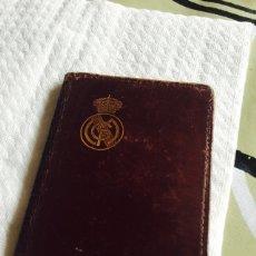 Coleccionismo deportivo: CARNET ANTIGUO DEL REAL MADRID. Lote 64765589