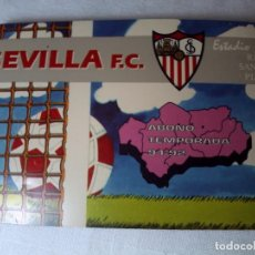 Coleccionismo deportivo: SEVILLA F.C. ABONO TEMPORADA 91-92. SOCIO NUMERARIO Nº 20. Lote 72571219