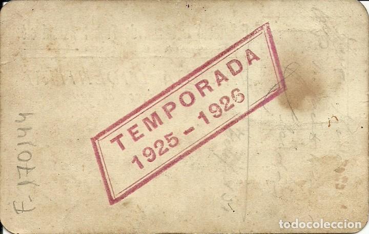 Coleccionismo deportivo: (F-170144)TARJETA DE D´IDENTITAT G.HELBIG,F.C.TERRASSA,1925-26.FEDERACIO CATALANA FUTBOL ASSOCIACIO - Foto 2 - 74718023