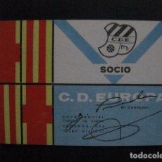 Coleccionismo deportivo: CARNET C.D. EUROPA -1 TRIMESTRE 1974 -VER FOTOS-(V-11.232). Lote 87374856