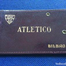 Coleccionismo deportivo: R2329 ANTIGUO CARNET ABONO SOCIO ATLETICO ATHLETIC CLUB BILBAO Y RECIBO CUOTA 1972 PADRE GAMINDE. Lote 88366688