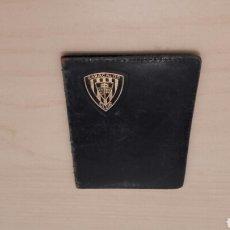 Coleccionismo deportivo: ESTUCHE DE CARNET DEL BARACALDO CLUB DE FÚTBOL. AÑOS 40/50.. Lote 89624094