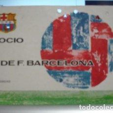 Coleccionismo deportivo: SOCIO C.DE F. BARCELONA 1970 - PORTAL DEL COL·LECCIONISTA . Lote 95827159