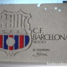 Coleccionismo deportivo: SOCIO C.DE F. BARCELONA 1972- PORTAL DEL COL·LECCIONISTA . Lote 95827199