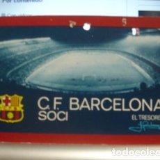 Coleccionismo deportivo: SOCIO C.DE F. BARCELONA 1973- PORTAL DEL COL·LECCIONISTA . Lote 95827415