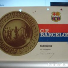 Coleccionismo deportivo: SOCIO C.DE F. BARCELONA 1968- PORTAL DEL COL·LECCIONISTA . Lote 95827455