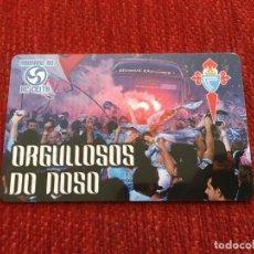 Coleccionismo deportivo: R3044 CARNET SOCIO ABONADO CELTA DE VIGO TEMPORADA 2014 2015. Lote 288599643