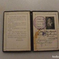 Coleccionismo deportivo: CARNET DE SOCIO DE FUTBOL DE SOCIO REAL MADRID. 1931.. Lote 108432291