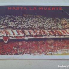 Coleccionismo deportivo: CARNET DE SOCIO DE ULTRAS DEL SEVILLA F.C. , BIRIS NORTE , TEMPORADA 1995-96. Lote 109491531