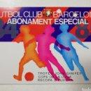 Coleccionismo deportivo: CARNET ABONO ABONAMENT ESPECIAL FC BARCELONA 84 85 1984-85 GAMPER RECOPA EUROPA COPA DE LA LIGA. Lote 110648510