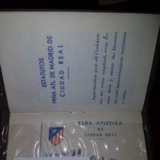 Coleccionismo deportivo: CARNET CLUB ATLETICO MADRID CIUDAD REAL 1973. Lote 113104292