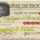 Coleccionismo deportivo: (F-180440)CARNET F.C.F. DE JOAQUIM PERIS DE VARGAS , PRESIDENTE DEL F.C.BARCELONA ,1914-1915. Lote 117629923