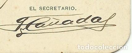 Coleccionismo deportivo: (F-180440)CARNET F.C.F. DE JOAQUIM PERIS DE VARGAS , PRESIDENTE DEL F.C.BARCELONA ,1914-1915 - Foto 4 - 117629923