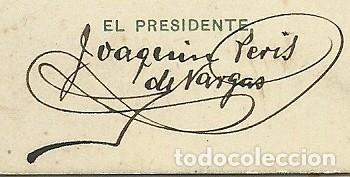Coleccionismo deportivo: (F-180440)CARNET F.C.F. DE JOAQUIM PERIS DE VARGAS , PRESIDENTE DEL F.C.BARCELONA ,1914-1915 - Foto 5 - 117629923