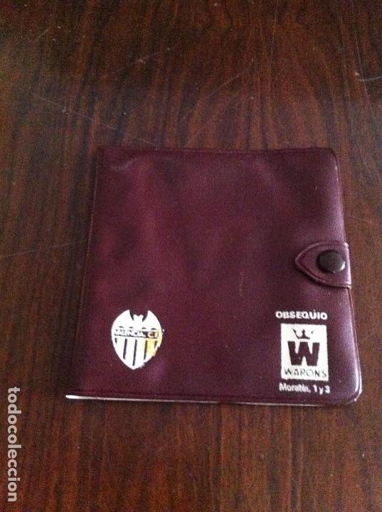 Coleccionismo deportivo: Antiguo Pase Valencia Club de Fútbol. Año 1974. Patrocinado por Cerveza Águila Dorada - Foto 3 - 118709827