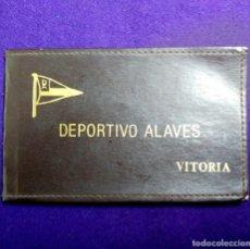 Coleccionismo deportivo: ANTIGUO CARNET DE SOCIO DEL DEPORTIVO ALAVES, CON FICHA DEL SOCIO. FUTBOL. VITORIA (ALAVA).. Lote 120921931