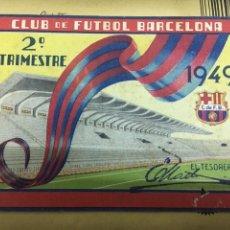 Coleccionismo deportivo: CLUB FUTBOL BARCELONA CARNET 1949. Lote 122435896