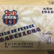 Coleccionismo deportivo: CLUB DE FUTBOL BARCELONA 1948. Lote 122436390