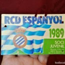 Coleccionismo deportivo: CARNET SOCIO RCD R.C.D ESPANYOL ESPAÑOL ANY 1989 JUVENIL. Lote 123367691