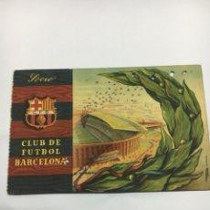 Coleccionismo deportivo: CARNET FUTBOL CLUB BARCELONA 1958. Lote 203996511