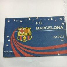 Coleccionismo deportivo: CARNET FUTBOL CLUB BARCELONA 1979. Lote 124872136
