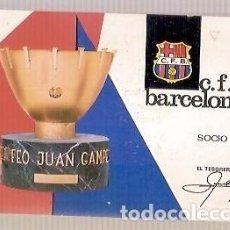 Coleccionismo deportivo: CARNET DE FUTBOL CLUB DE FUTBOL BARCELONA AÑO 1967 3 º TRIMESTRE. Lote 137993734