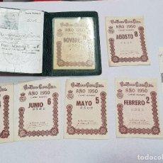 Coleccionismo deportivo: CARNET DE SOCIO DEL REAL MADRID. Lote 138516286