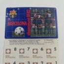 Coleccionismo deportivo: FC BARCELONA CARNET ABONO ABONAMENT 81-82 1981-1982 BARÇA SOCIO SOCI CON CUPONES. Lote 139325093