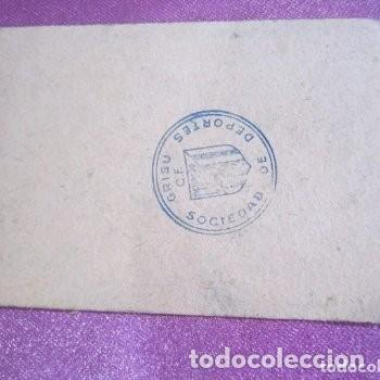 Coleccionismo deportivo: CLUB DE FUTBOL ASTURIANO GRISU CARNET DE SOCIO AÑO 1956 - Foto 5 - 141792574