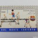Coleccionismo deportivo: CARNET SOCIO FC BARCELONA CF TEMPORADA 1969-70 69-1970 ABONO ABONAMENT SOCI BARÇA FUTBOL. Lote 143470453